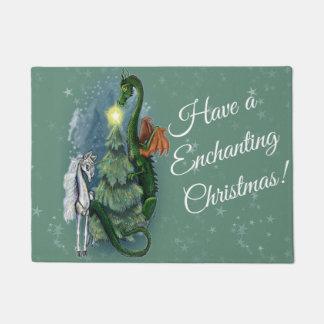 Tapete Recolhimento Enchanted da árvore de Natal