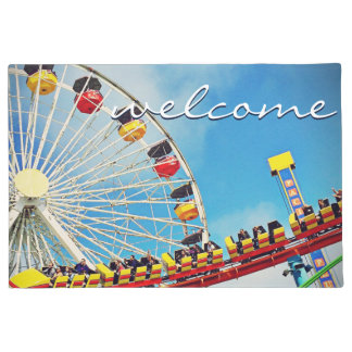 "Tapete Roda de Ferris do divertimento da ""boa vinda"" &"