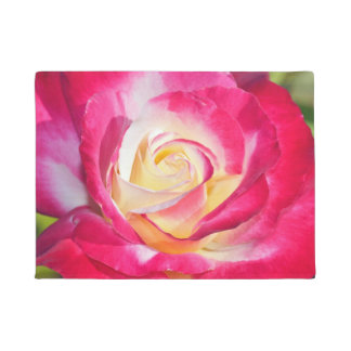 Tapete Rosa cor-de-rosa e branco