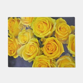 Tapete Rosas amarelos