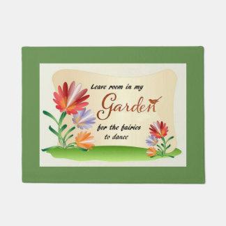 Tapete Saa da sala em meu jardim para as fadas
