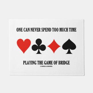 Tapete Se pode nunca passar demasiada hora que joga a