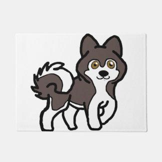 Tapete selo do malamute do Alasca e desenhos animados