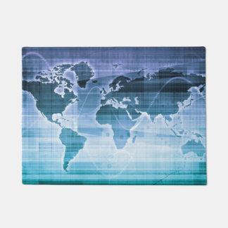 Tapete Soluções globais da tecnologia