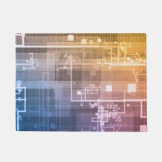 Tapete Tecnologia futurista como uma arte da próxima