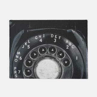 Tapete Telefone giratório do vintage