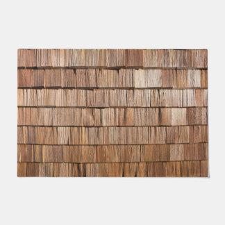 Tapete Telha de madeira