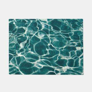 Tapete Teste padrão da água da piscina