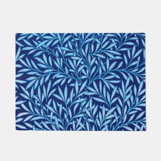 Tapete Teste padrão do salgueiro de William Morris, azul