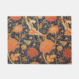 Tapete Teste padrão floral de Nouveau da arte de William