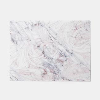 Tapete Toque de na moda chique de mármore branco &