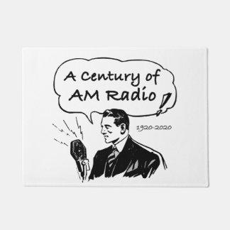 Tapete Um século do rádio do AM