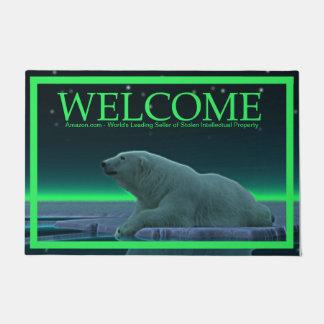 Tapete Urso polar da borda do gelo - boa vinda