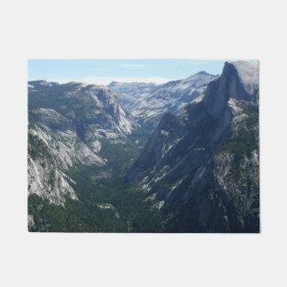 Tapete Vista do ponto da geleira no parque nacional de