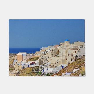 Tapete Vista panorâmica de Santorini