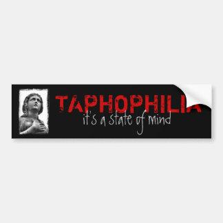 Taphophilia Adesivo Para Carro