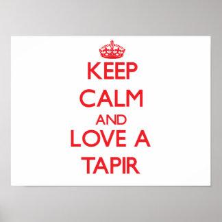 Tapir Posters