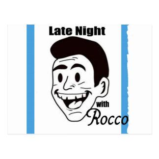 Tardio com os ganhos da mostra de Rocco Cartão Postal