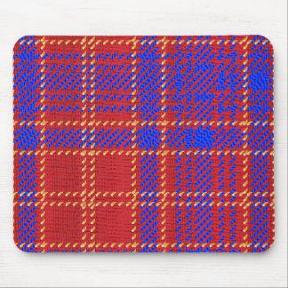 Tartan azul do Kilt Mousepad