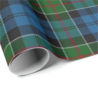 Tartan do Scottish de Colquhoun do clã Papel De Presente