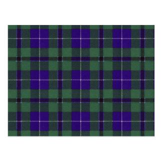 Tartan do Scottish de Douglas Cartão Postal
