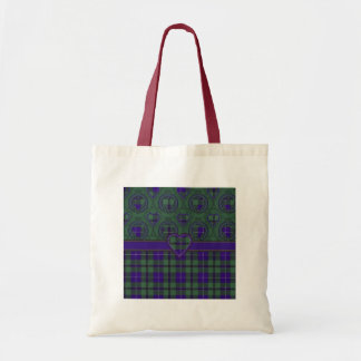 Tartan do Scottish de Douglas Sacola Tote Budget