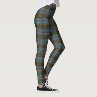 Tartan escocês de Anderson do clã Leggings
