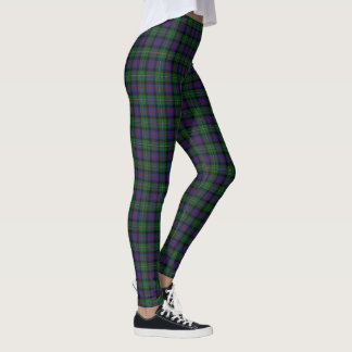 Tartan escocês de Malcolm do clã Leggings