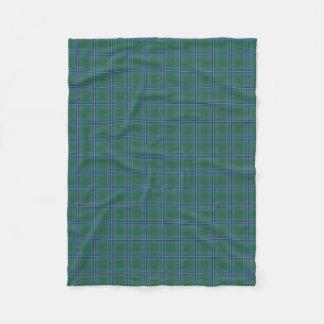Tartan escocês do clássico de Irvine Irwin do clã Cobertor De Lã