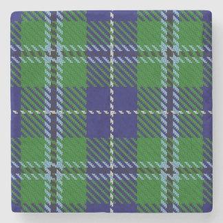 Tartan escocês velho de Douglas do clã da taberna Porta Copos De Pedras
