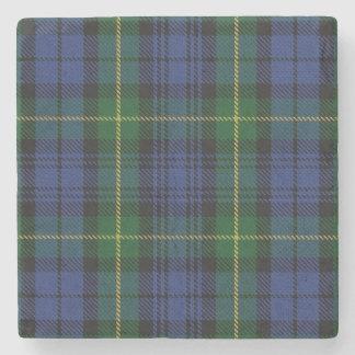 Tartan escocês velho de Gordon do clã da taberna Porta Copos De Pedras