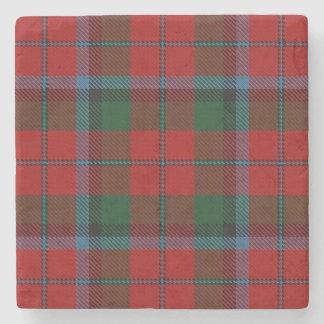 Tartan escocês velho de MacNachtan do clã da Porta Copos De Pedra