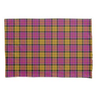 Tartan fúcsia do Scottish de Culloden do roxo e do