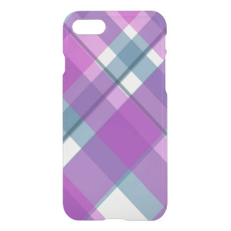Tartan roxo capa iPhone 7