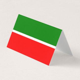 Tartaristão embandeira cartão de mesa
