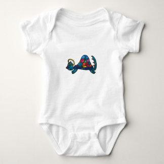 tartaruga body para bebê