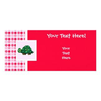 Tartaruga bonito planfetos informativos coloridos