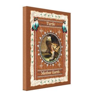 Tartaruga - canvas da terra de mãe