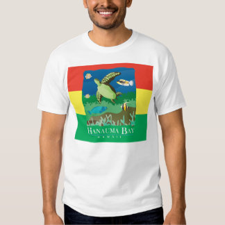 Tartaruga da reggae de Havaí da baía de Hanauma Camiseta