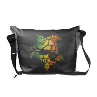 Tartaruga da reggae de Havaí e ilhas de Havaí Bolsa Mensageiro