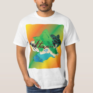 Tartaruga das ilhas da reggae de Havaí Tshirt