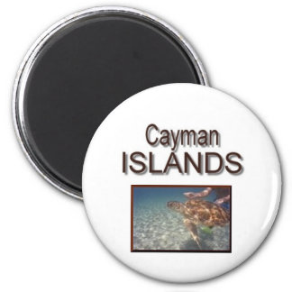 Tartaruga de Cayman Islands Imãs De Geladeira