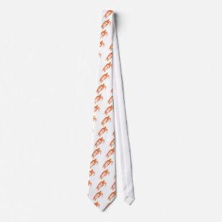 Tartaruga de mar impetuosa em cores alteradas gravata