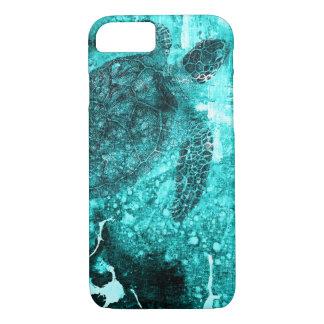 Tartaruga de mar mim capa de telefone, imagem da