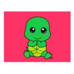 Tartaruga do bebê cartão postal