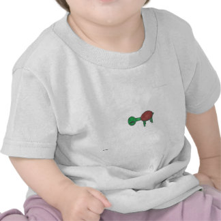 Tartaruga do bigode camisetas