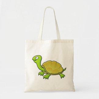 Tartaruga dos desenhos animados sacola tote budget