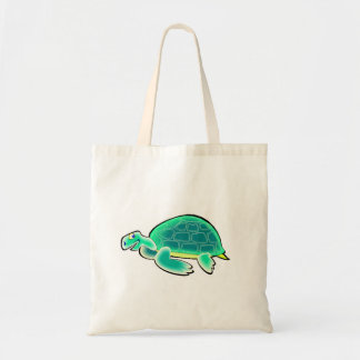 Tartaruga dos desenhos animados bolsa para compra