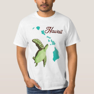 Tartaruga e ilhas de Havaí Camiseta