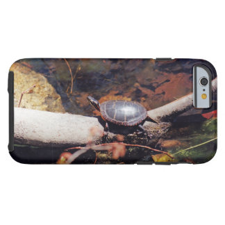Tartaruga feliz capa tough para iPhone 6